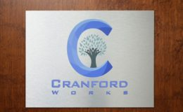 Cranfordworks Logo Sign on door